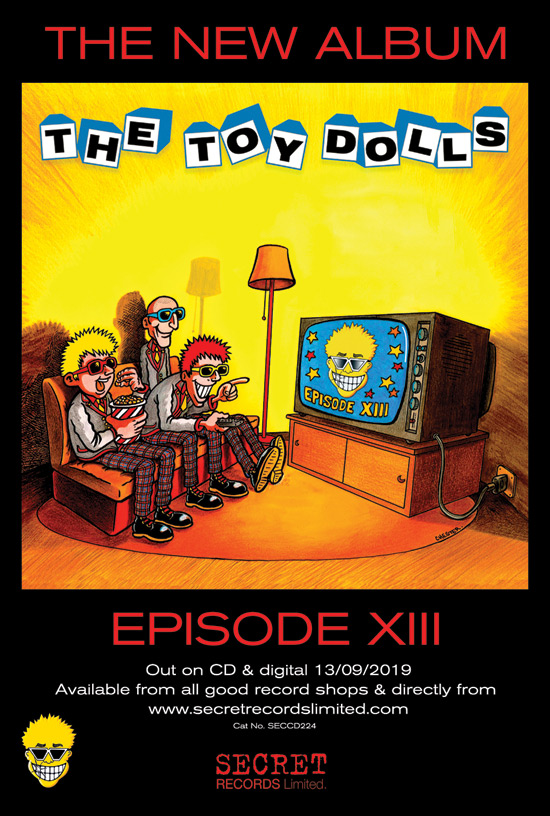 The Toy Dolls Official Website